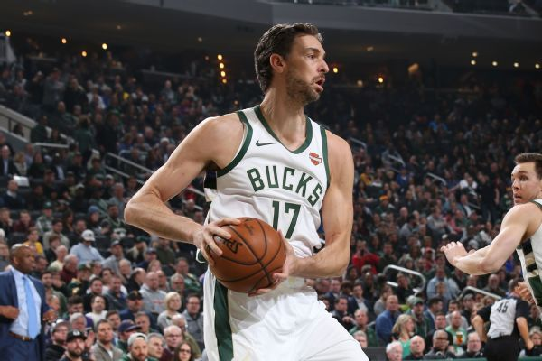 Sources: Gasol (ankle) expected to miss month