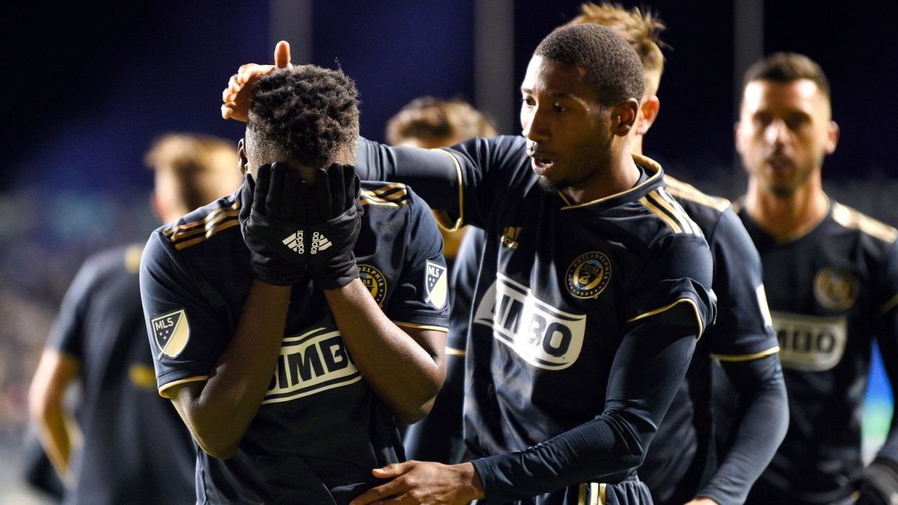David Accam scores twice as Union blank Crew