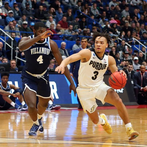 Villanova's reign ends in 'ugly game' vs. Purdue