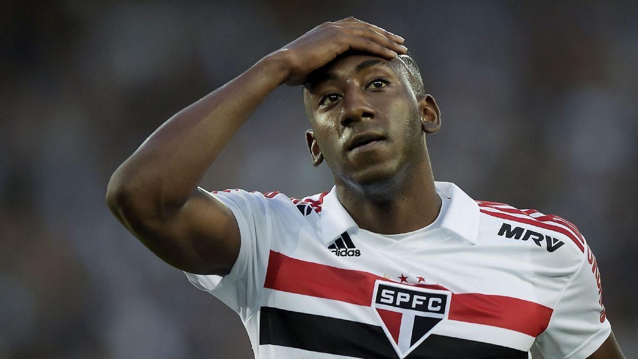 São Paulo: Atacante Gonzalo Carneiro é pego no doping e suspenso de forma preventiva