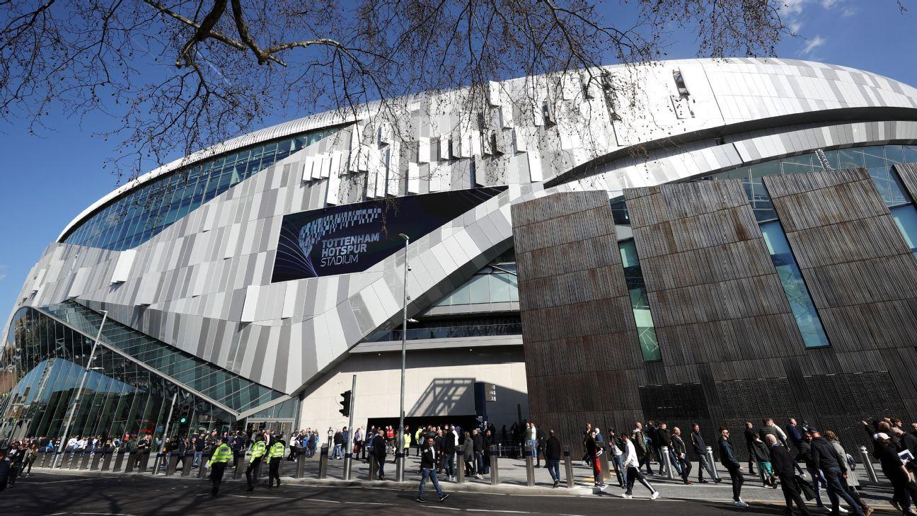 Nuevo estadio del Tottenham Hotspur vivió su primer compromiso