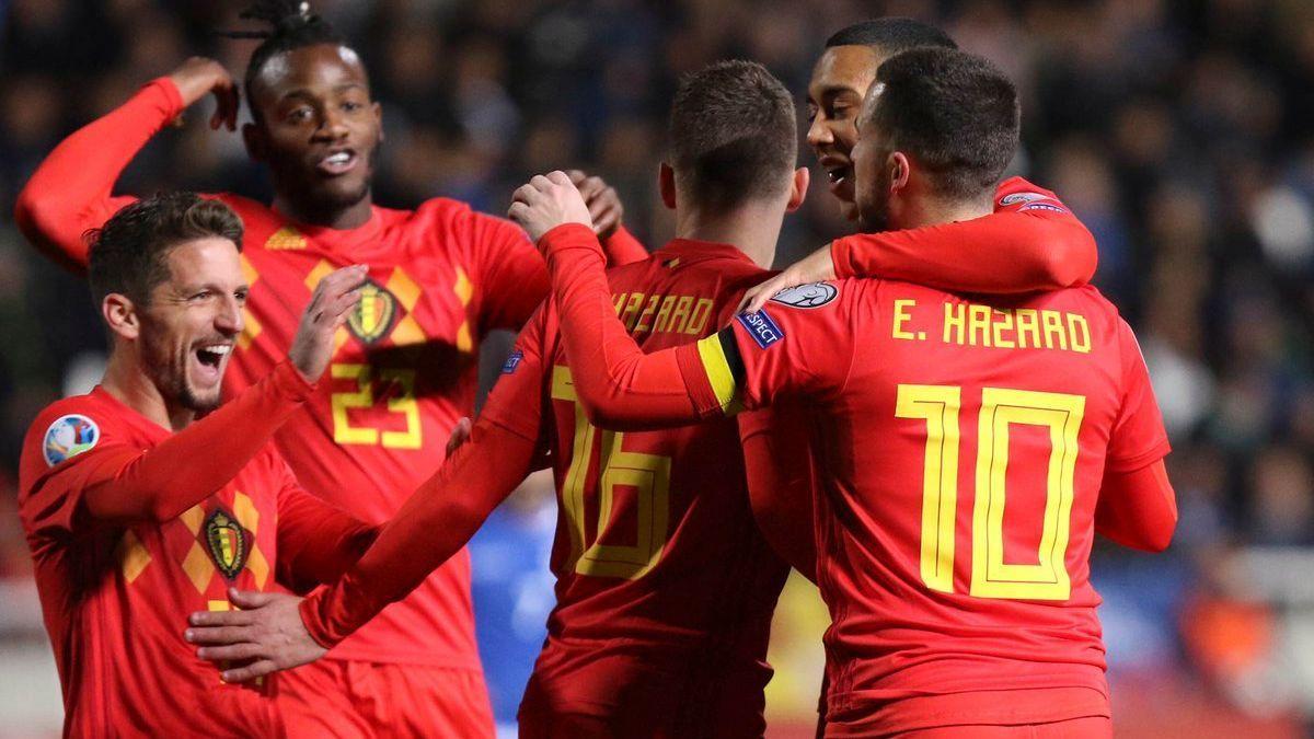 Bélgica derrotó´2-0 a Chipre en las Eliminatorias de la Euro 2020