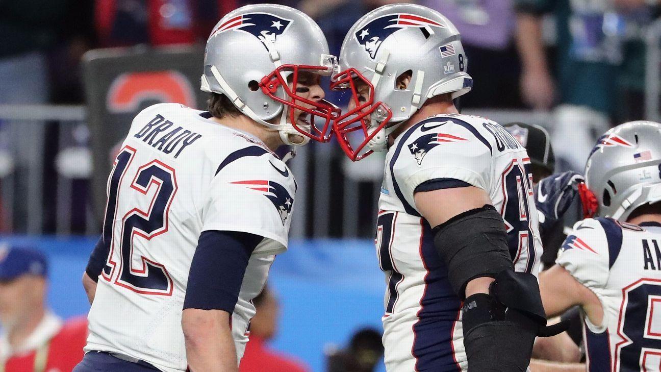 Tom Brady homenageia Gronk após aposentadoria e se declara ao ex-companheiro 'Te amo, amigo!'