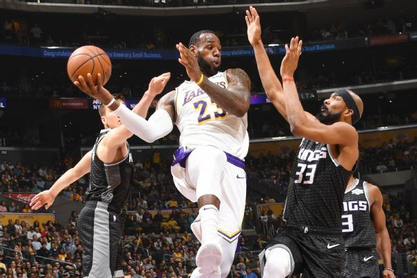 LeBron on triple-double: I won't 'cheat the game'