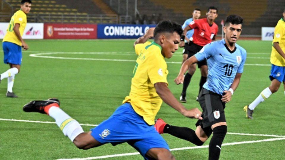 Brasil sofre empate amargo do Uruguai no Sul-Americano Sub-17