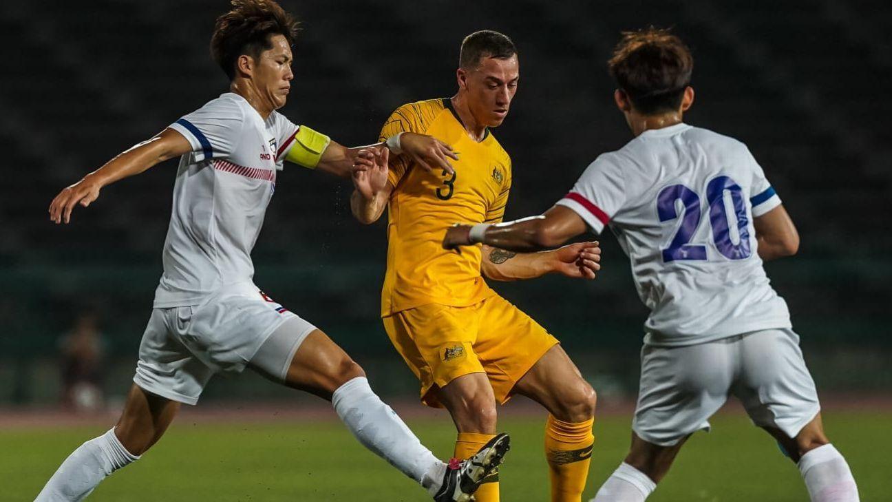 Olyroos hit six past Taiwan to keep Japan 2020 bid on track