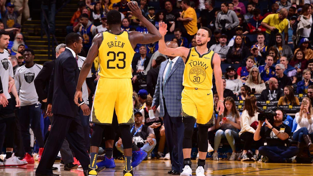Warriors llegan a 50 triunfos por sexta temporada seguida