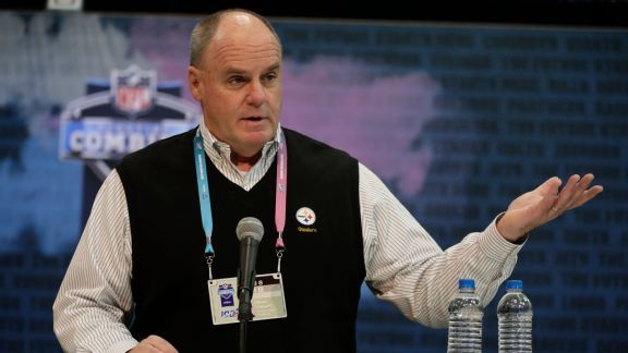 Steelers GM Kevin Colbert plans big things with draft 'ammunition'