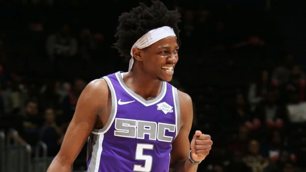 De'Aaron Fox is speeding up the Kings' timeline
