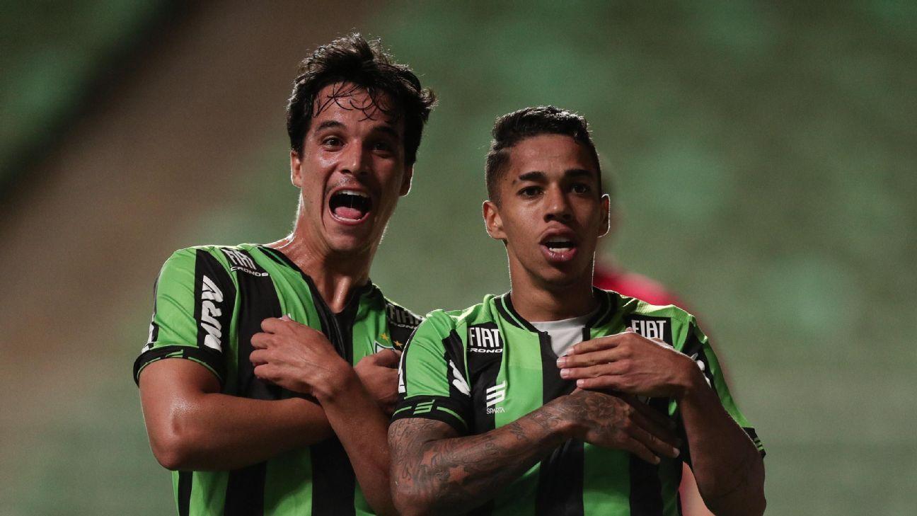 América vence Caldense no fim e avança para enfrentar o Cruzeiro nas semifinais do Campeonato Mineiro