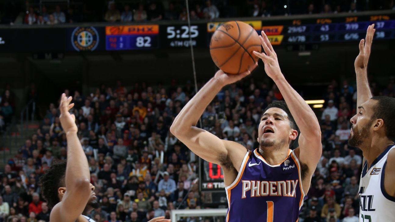 Devin Booker suma hazañas en derrota de Suns