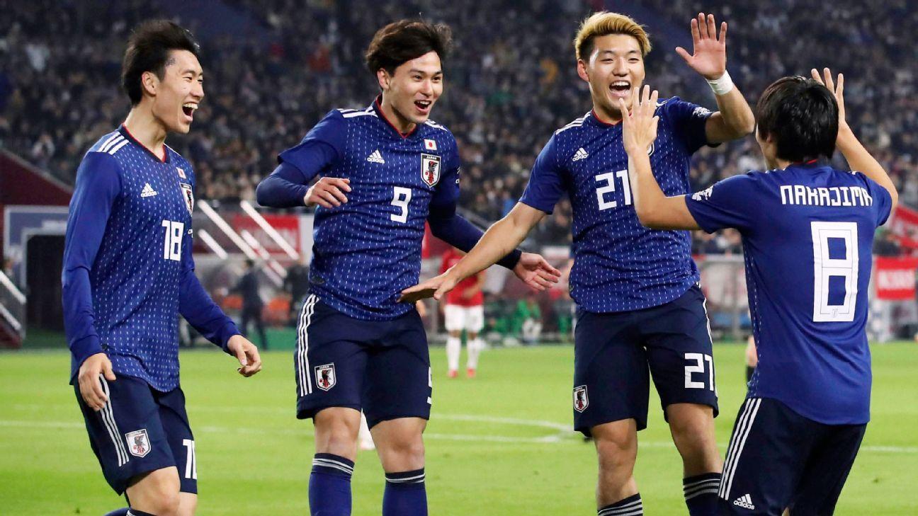 Shoya Nakajima scores as Japan edge Bolivia in friendly