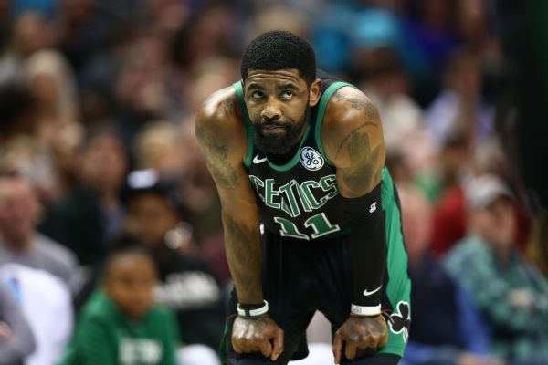 Celtics' Irving to rest in Cleveland vs ex-team