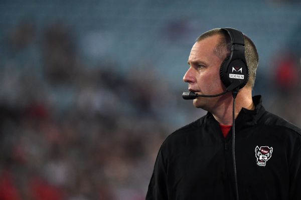 NC State signs coach Doeren to 5-year contract