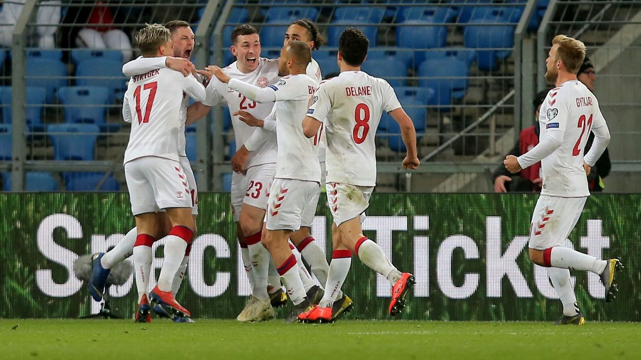 Henrik Dalsgaard's last-gasp goal helps Denmark draw Switzerland