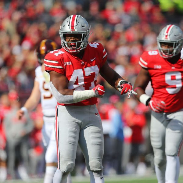 Ohio State LB Hilliard, WR Babb out indefinitely