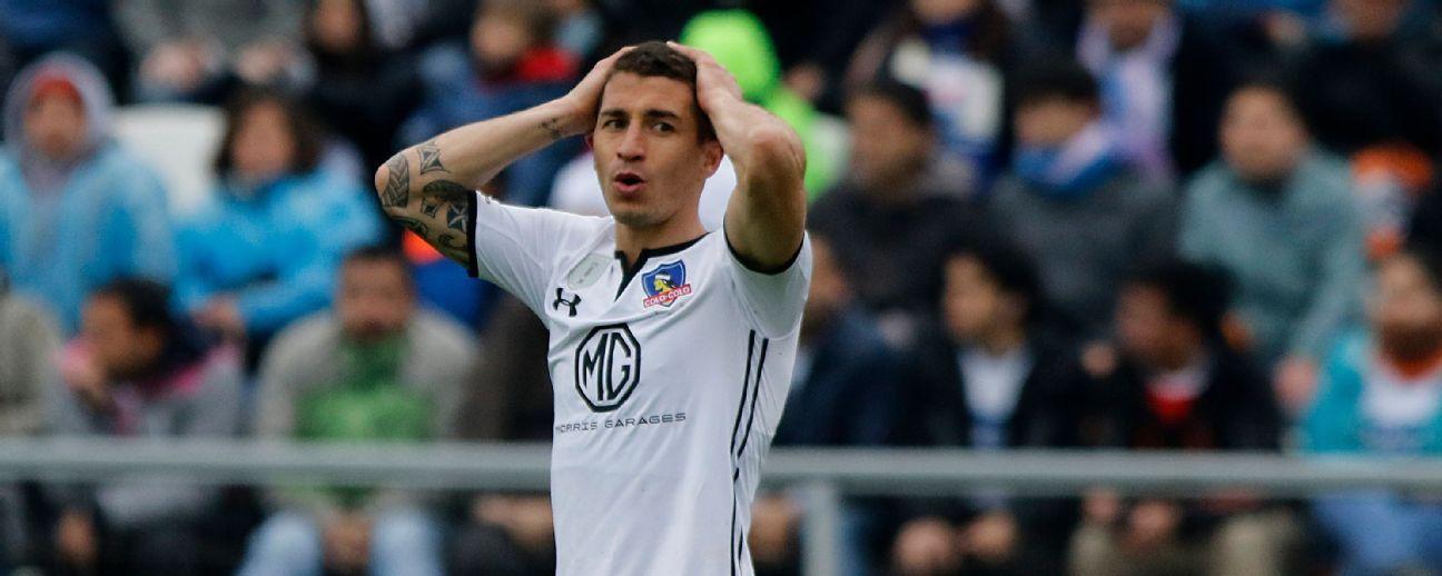 Carmona se lesionó y quedó en duda para el partido ante Iquique