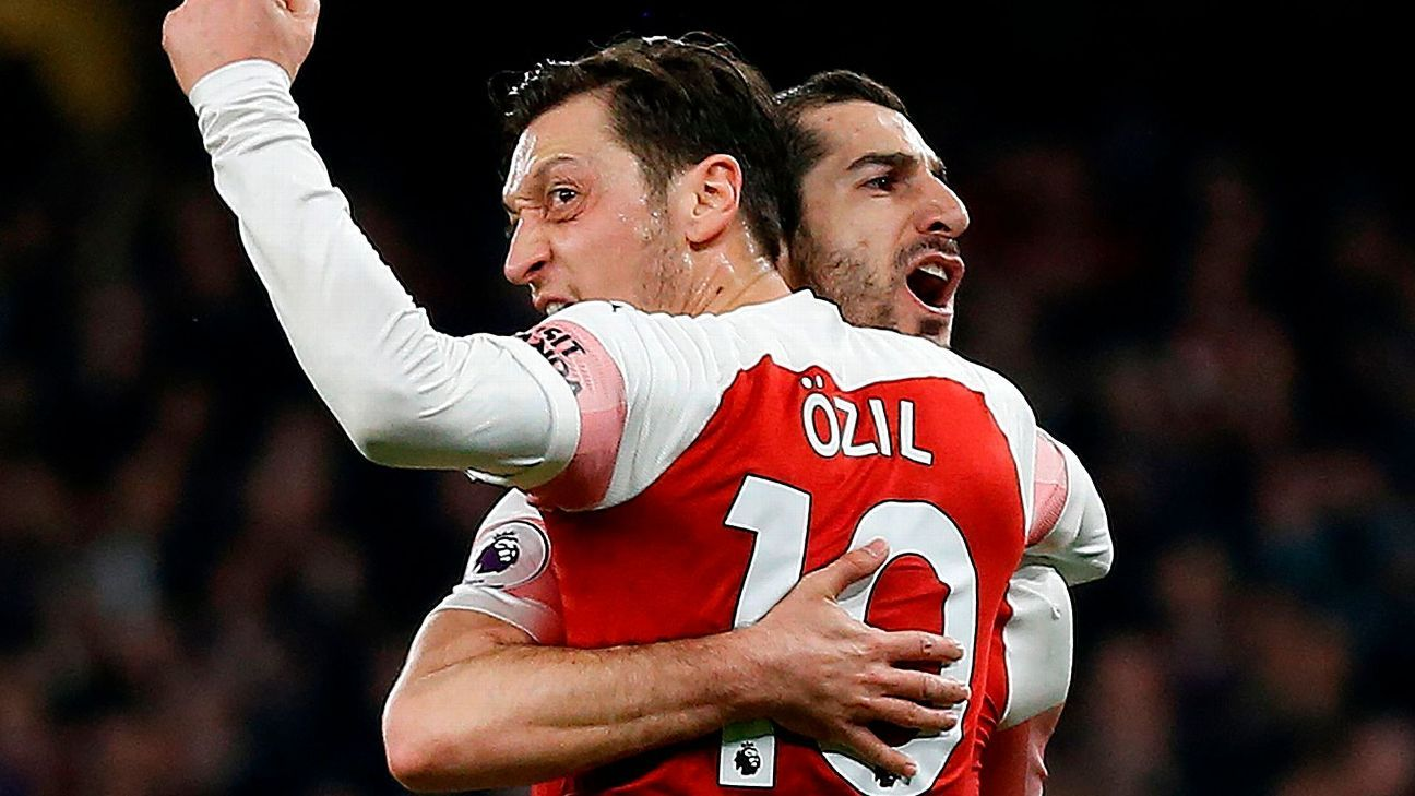 Transfer Talk: Arsenal would sell Henrikh Mkhitaryan, Mesut Ozil to raise cash