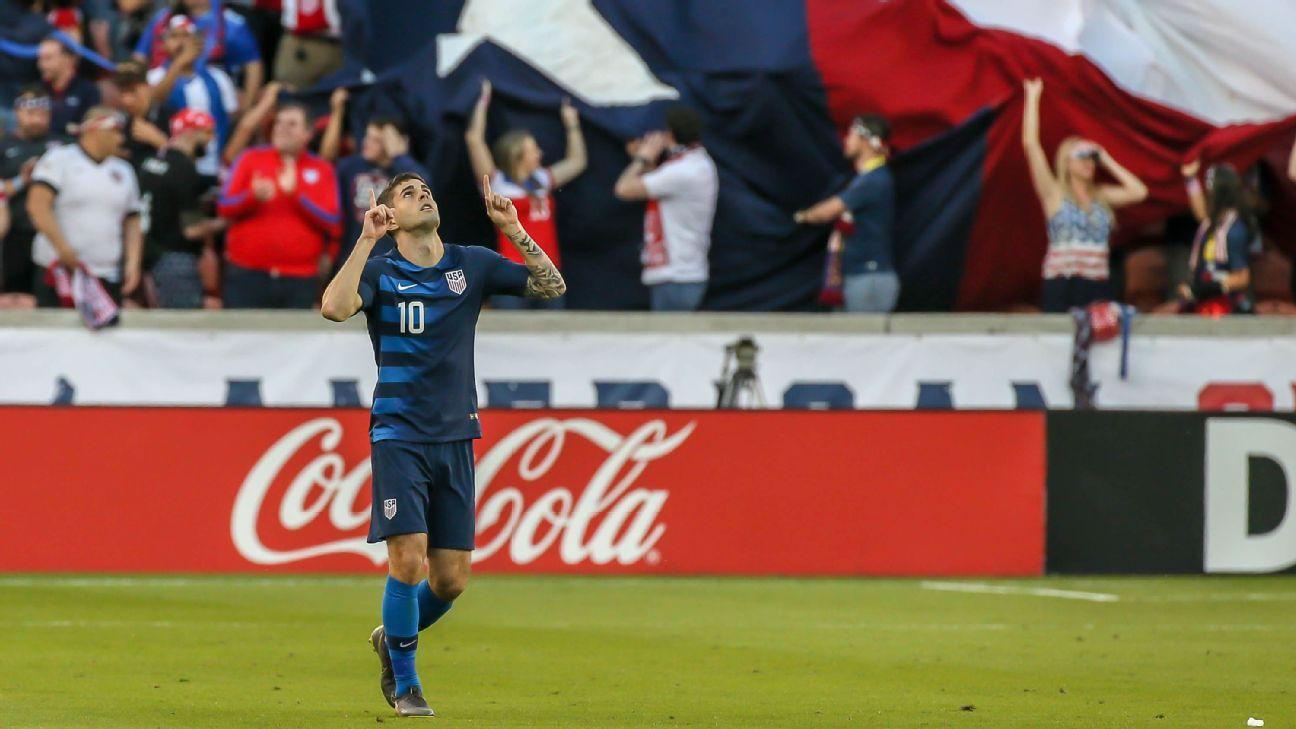 Pulisic injury caps a tough but rewarding international break for new U.S. side under Berhalter