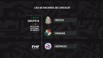 México conoce a rivales para Concacaf Nations League