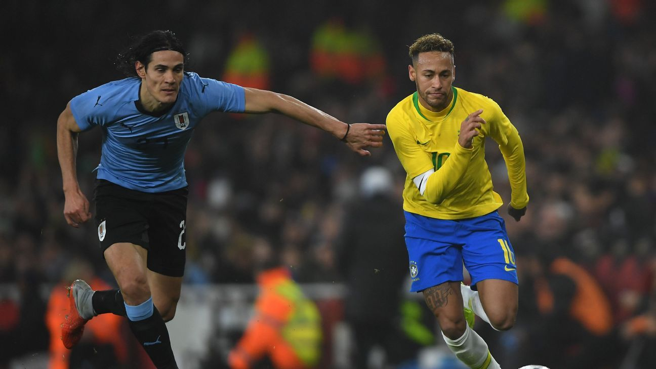Brazil, Uruguay clear Copa America favorites amid CONMEBOL's widespread instability
