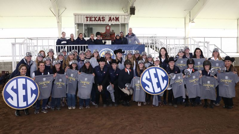 Auburn claims SEC Equestrian Championship