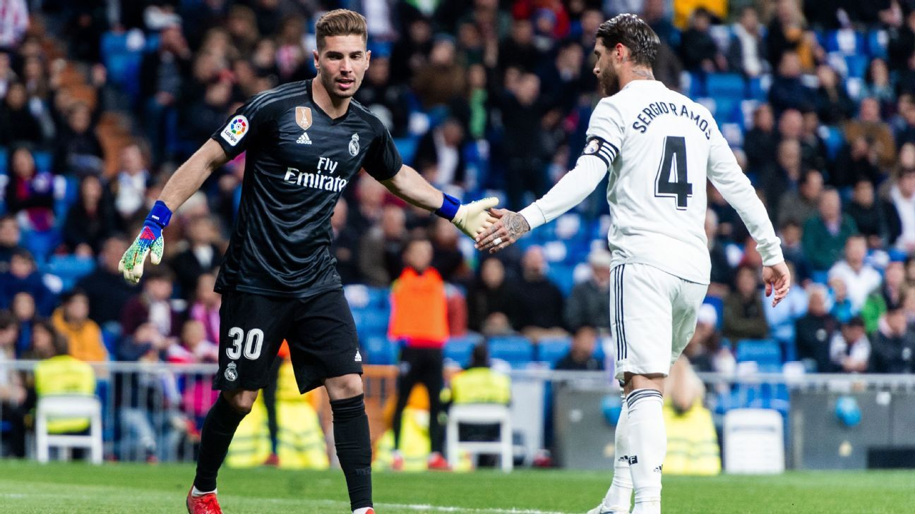 Benzema leads Real Madrid to win as Luca Zidane gets surprise start