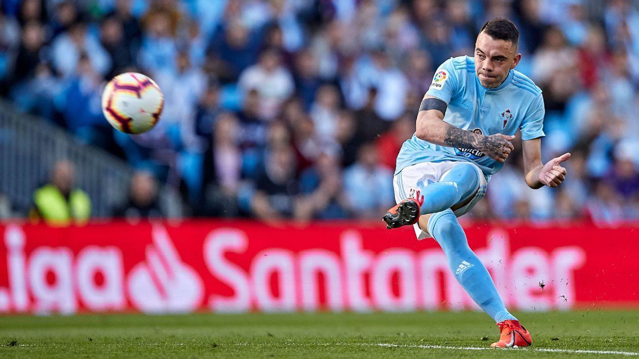 Aspas inspires Celta comeback in thriller against Villarreal