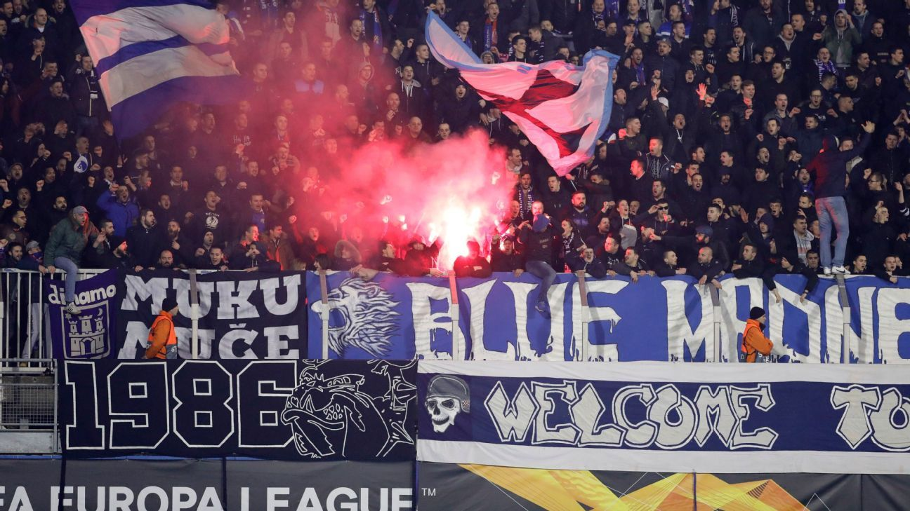 Dinamo Zagreb to play behind closed doors after racist fan behaviour