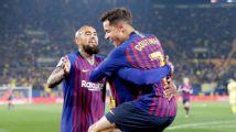 """Coutinho: """"Vidal es de los mejores del mundo"""""""