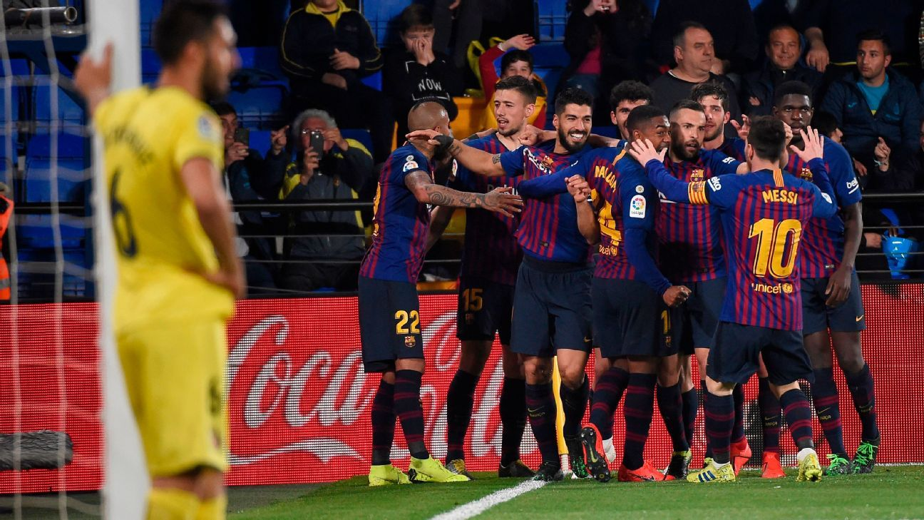 Messi and Suarez rescue Barcelona in thrilling draw at Villarreal