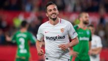 Sevilla boost top four hopes with win over Alaves on Mesa, Sarabia goals