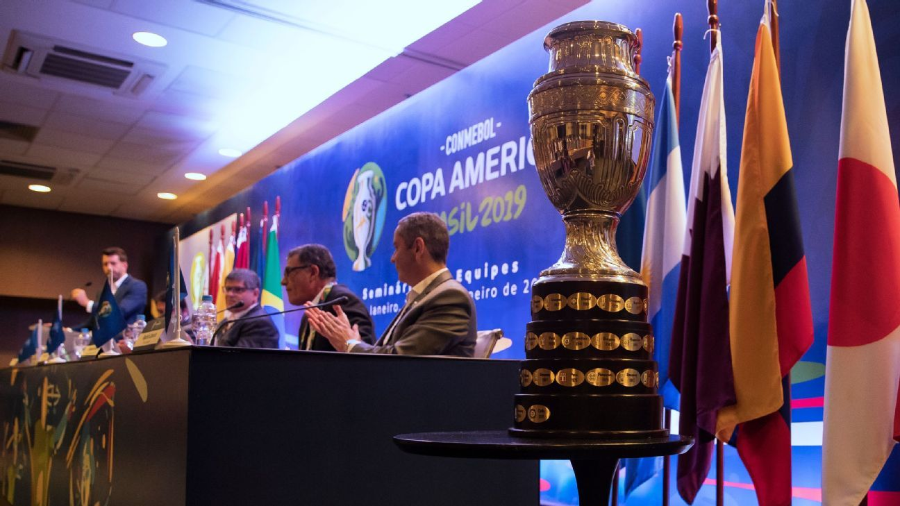 Argentina, Colombia to co-host revamped '20 Copa America