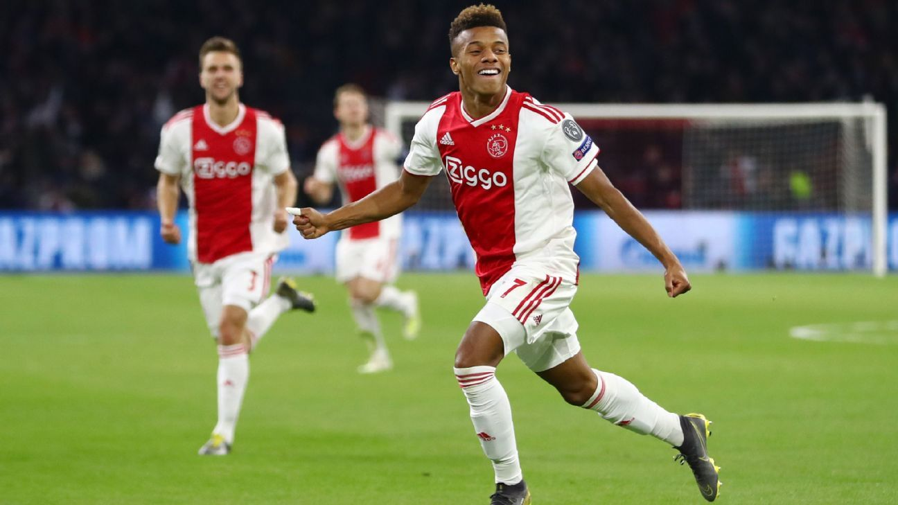 LIVE Transfer Talk: Arsenal target Ajax winger David Neres after Juventus win