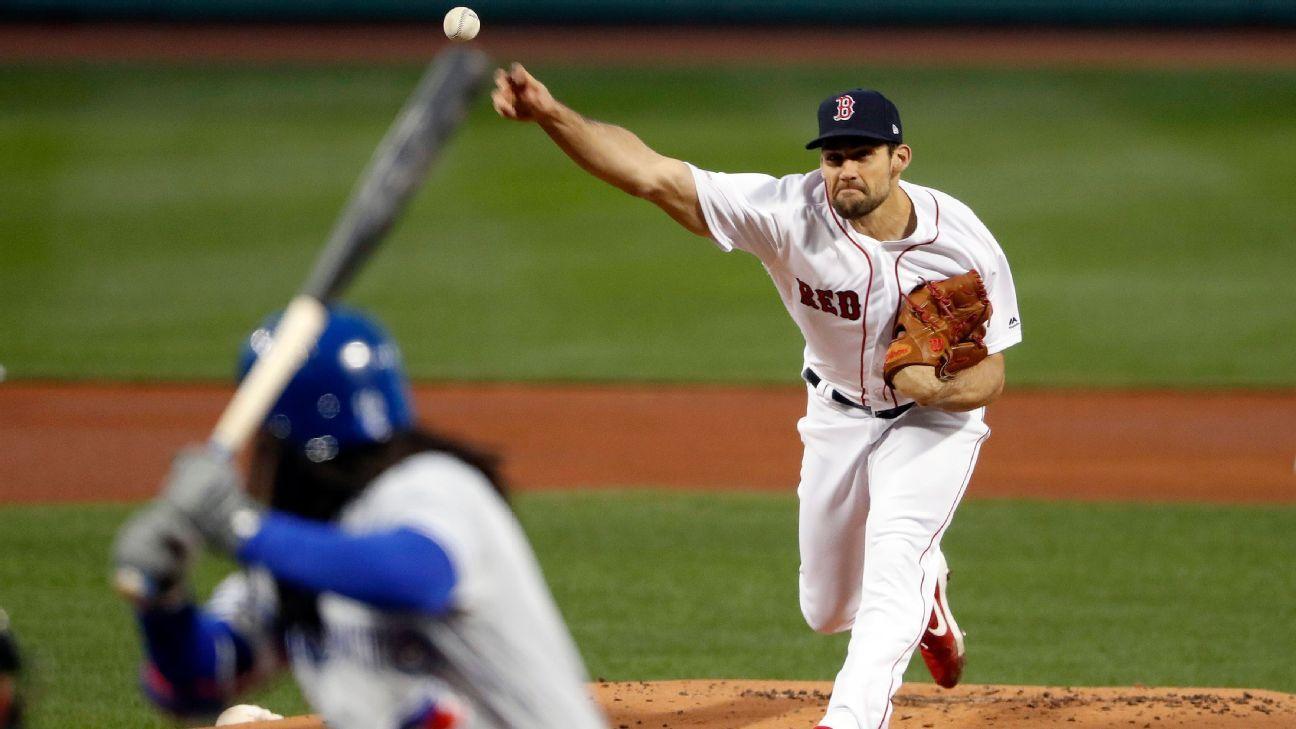Red Sox colocan a Eovaldi en lista de lesionados de 10 días