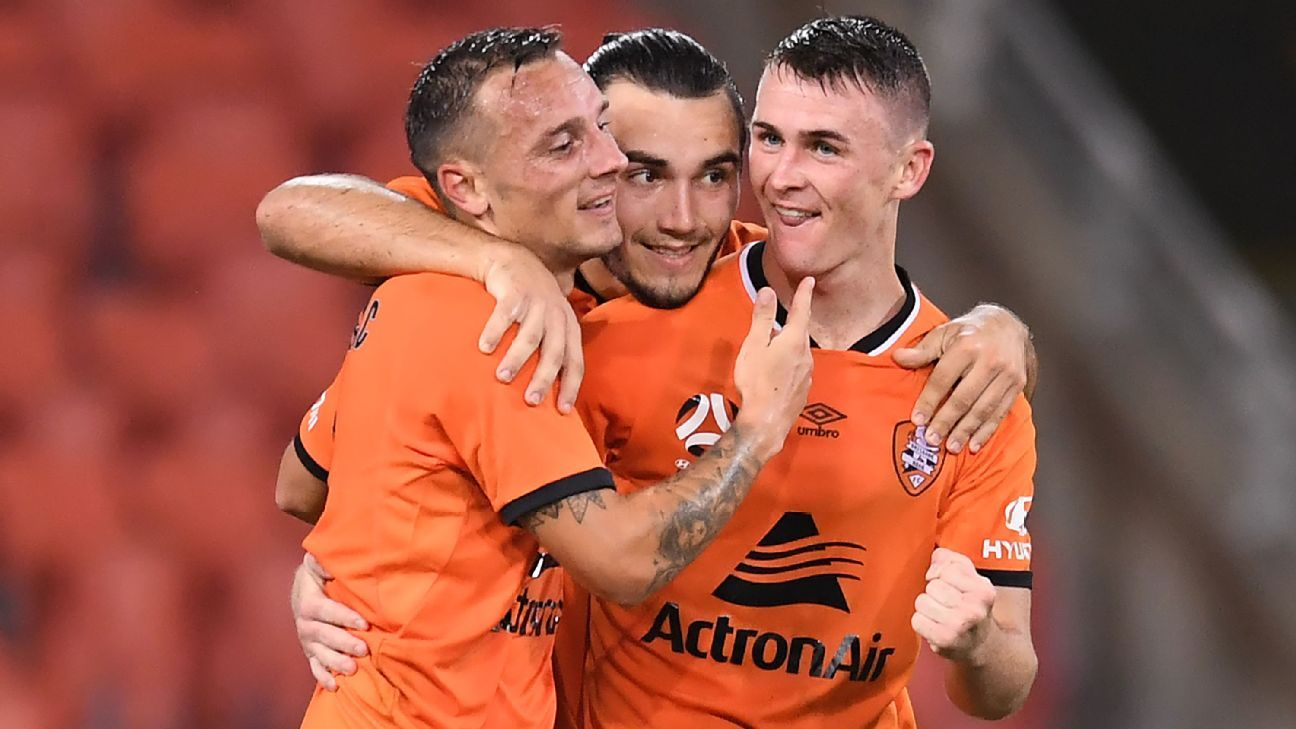 Brisbane earn shock win over Wellington with Beautheac double