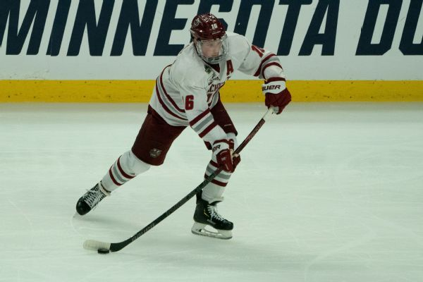 Avalanche to play UMass' Makar in Game 3