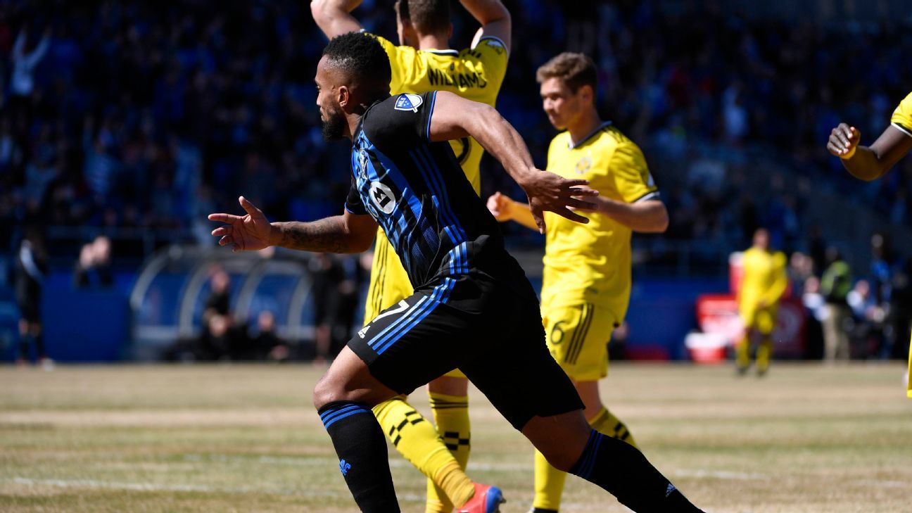 Harry Novillo's goal lifts Montreal Impact over Columbus Crew