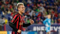 Atlanta's Barco out at least two weeks with injury