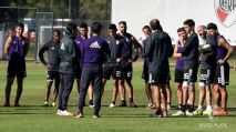 River dio la lista de convocados para enfrentar a Cruzeiro