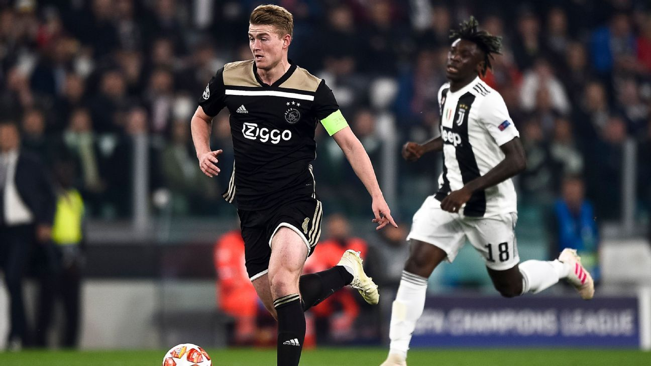 Barcelona set to sign De Ligt as Ajax agreement nears - sources
