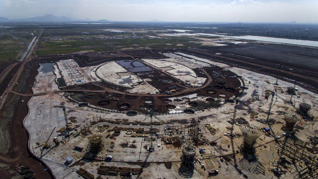 Autoridades sin plan alterno por cancelación del aeropuerto para Mundial 2026