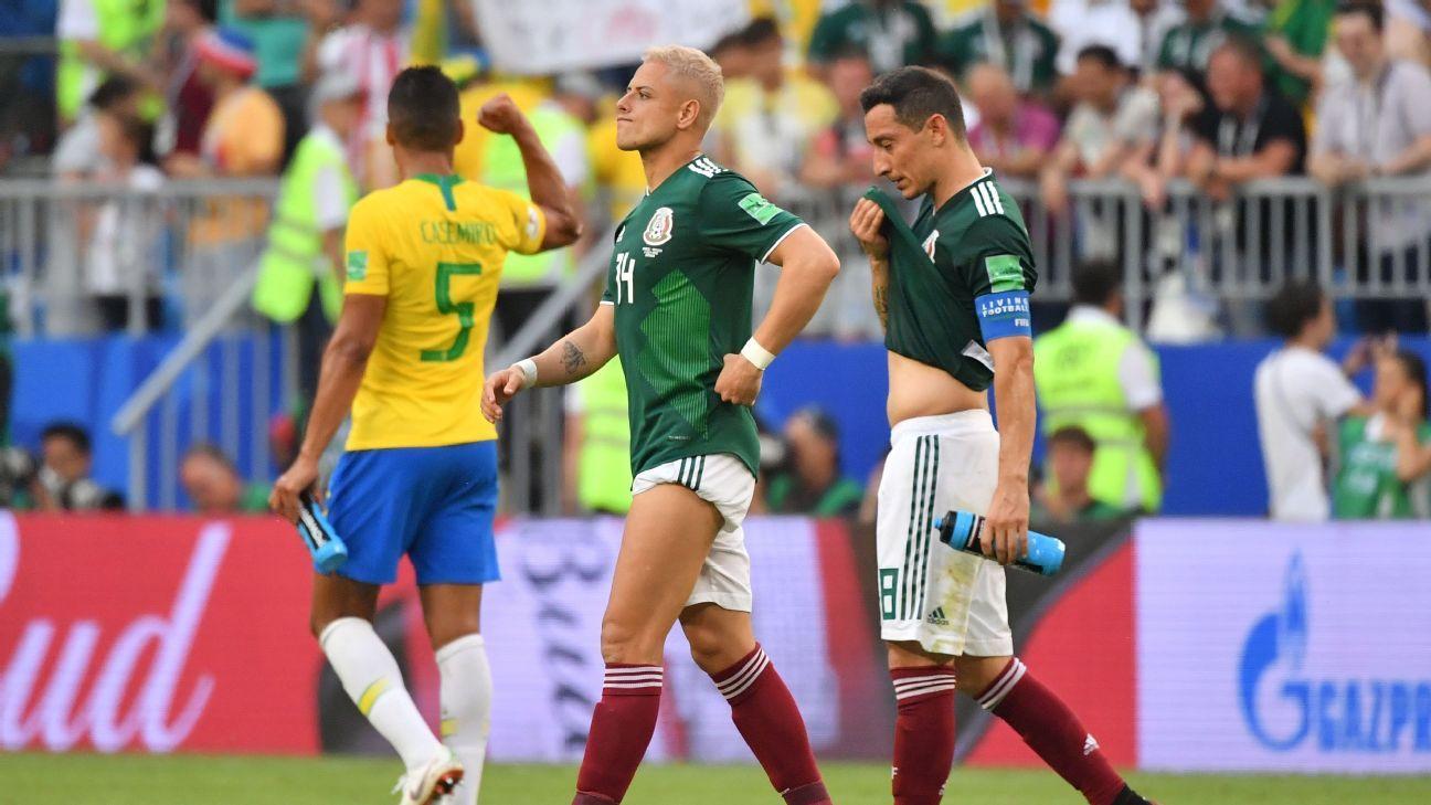 Guardado: Mexico's 'golden' era fell short of World Cup objectives