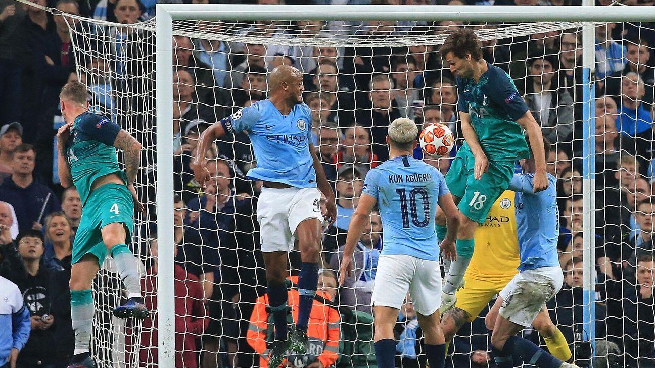 Gol do Tottenham que tirou City da Champions será irregular em junho, mas já deveria ter sido anulado; entenda