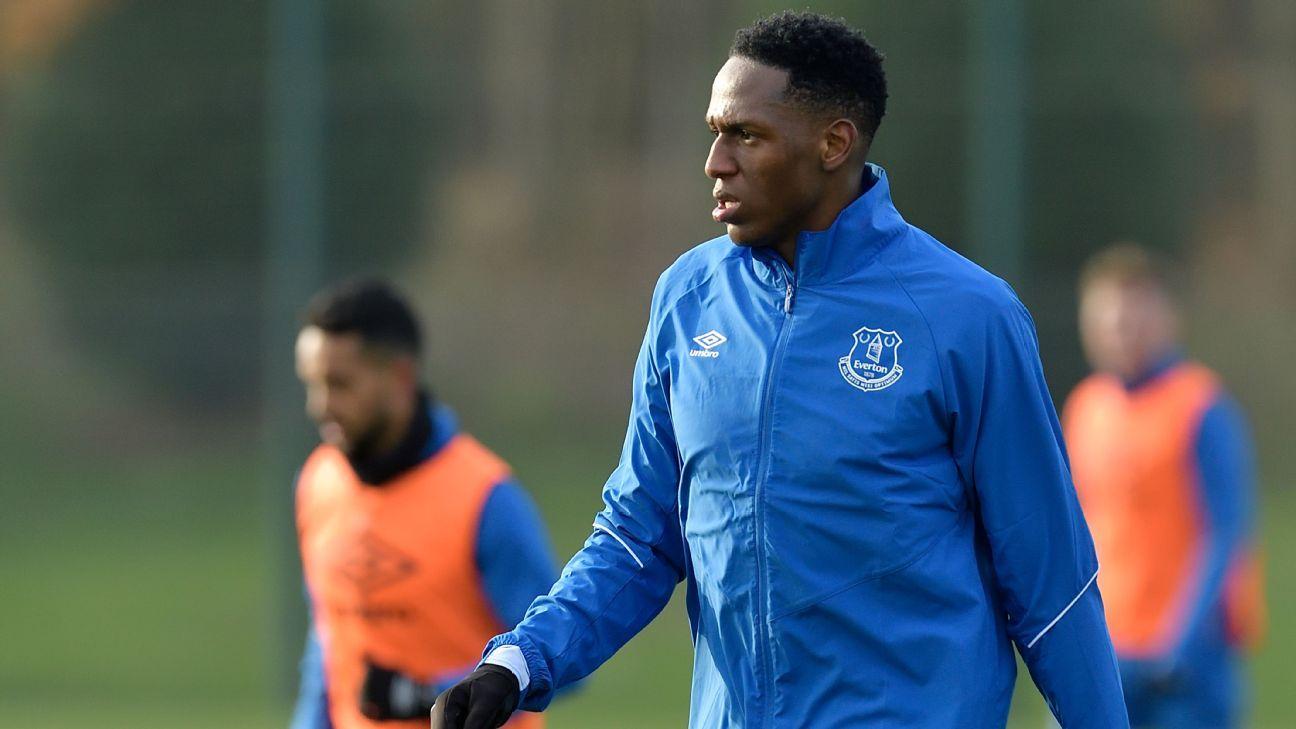 Yerry Mina no está recuperado y no jugará ante Man United
