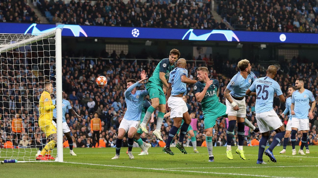 Explaining the VAR drama: Why Fernando Llorente's goal stood as Spurs eliminated Man City