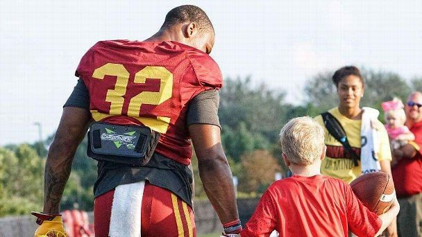 'God was pulling me toward him': How David Montgomery formed a bond with a young fan