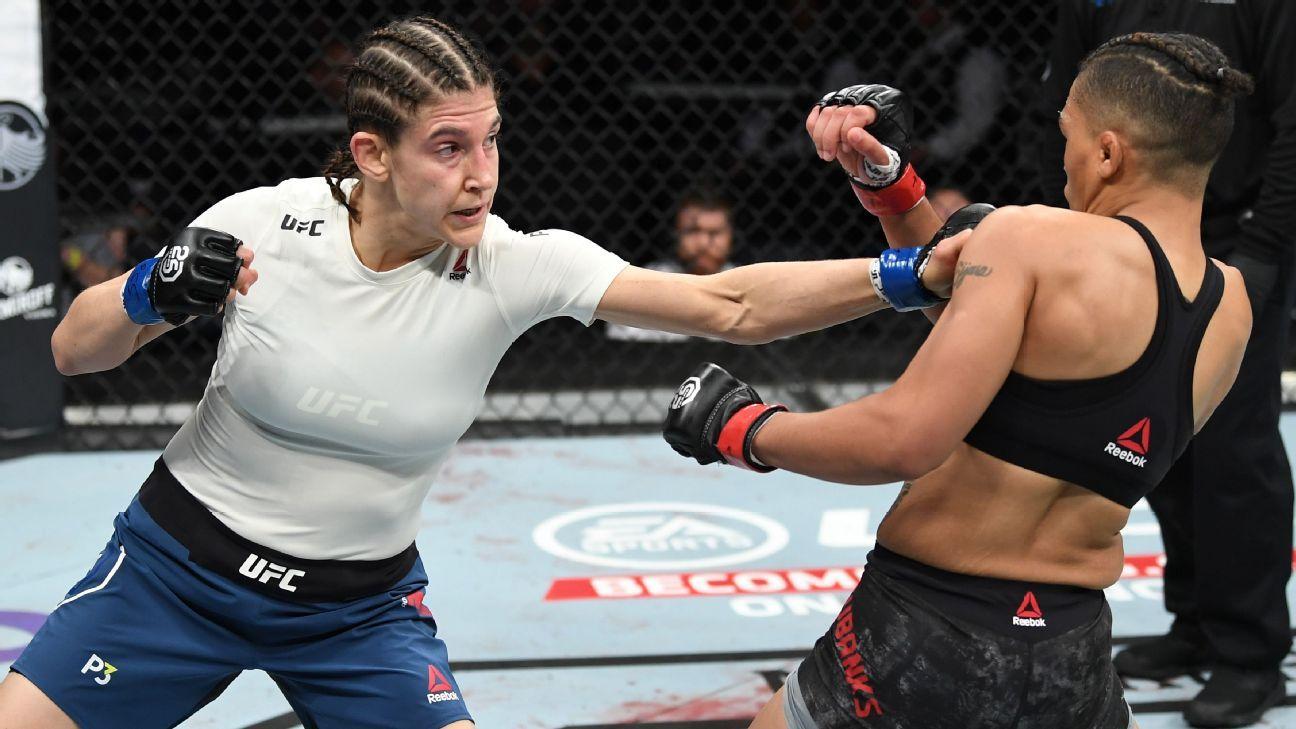 Roxanne Modafferi: 'No somos mujeres luchadoras de MMA. Somos luchadores de MMA'