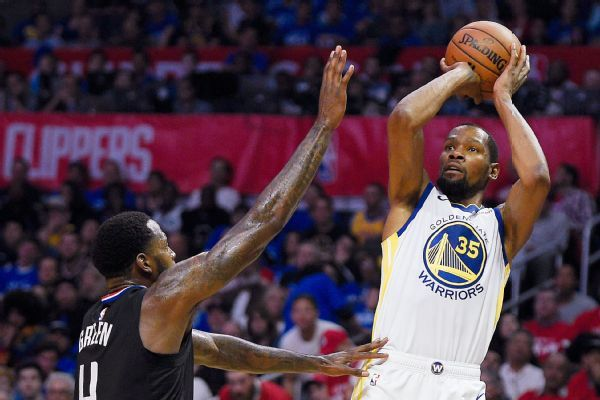 KD takes over with 38 points in Game 3 blowout