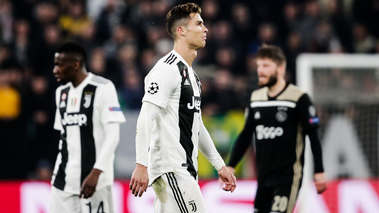 Ronaldo the 'future of Juventus,' not leaving after Champions League exit - Allegri